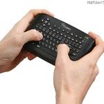 ゲームコントローラー感覚で空中操作できるワイヤレスマウス&キーボード