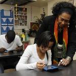 美術の時間に『絵心教室DS』を活用・・・米国の学校で