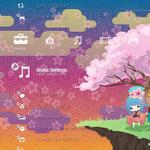 【東日本大地震】SCE、桜がテーマなPS3壁紙で義援金を募る