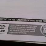 EA、一部タイトルで紙の説明書を廃止