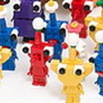 『ピクミン』の全キャラクターをレゴで作ってしまった男