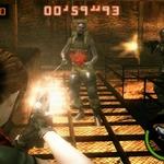 3DS『バイオハザード ザ・マーセナリーズ 3D』の試遊台が店頭に設置