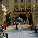 英国ウィリアム王子の結婚式をレゴブロックで再現