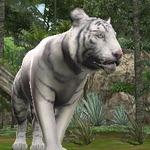 『アニマルリゾート』が東武動物公園とコラボ ― 人気ホワイトタイガー「ロッキーくん」がゲームに登場