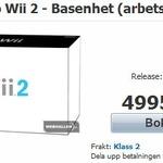 スウェーデンの小売店でWii 2の予約が開始!?