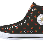 ドットマリオをあしらったクールな靴「CONVERSE × SUPER MARIO BROS.」2011年夏発売