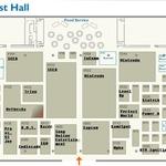 【E3 2011】フロアマップが公開、各メーカーのブース配置も明らかに