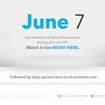 【E3 2011】任天堂、E3の特設サイトをオープン・・・運命の日は6月8日