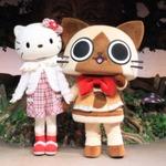 『モンハン日記 ぽかぽかアイルー村G』とサンリオピューロランドがコラボ、マイメロディの服もゲームに登場
