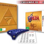 『ゼルダの伝説 時のオカリナ3D』オーストラリアの予約特典は「トライフォースのオカリナ」と二枚の楽譜
