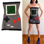 ゲームボーイ風ドレスを着て出かけよう