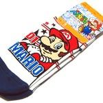 マリオの基本は足下から!「スーパーマリオ キッズソックス」・・・週刊マリオグッズコレクション第148回