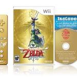 黄金のWiiリモコンとCDを同梱した『ゼルダの伝説 スカイウォードソード』の限定版が発表