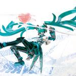 「初音ミク」×『バーチャロン』「フェイ・イェン」、コラボフィギュアがバンダイから発売