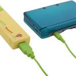 3DSの急な充電切れを助ける便利アイテム「ガチャピン×ムック 乾電池アダプタ」