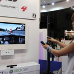 【TGS 2011】エアハンドルでカーブを攻めろ!『Forza Motorsport 4』を試乗