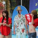 【TGS 2011】幕張メッセに向かう途中で出迎えたのは「バノイ島」の美女たち(写真追加)