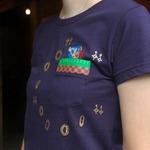 ドットデザインのソニックTシャツがエディットモードより発売決定 ― 10月はイベントも開催