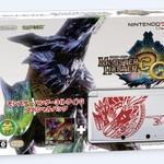 『モンスターハンター3(トライ) G』限定3DS本体がセットになったスペシャルパック発売決定