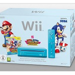 欧州任天堂、『マリオ&ソニック AT ロンドンオリンピック』を同梱したブルーの新型Wiiを発売