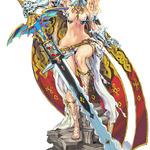 キャラデザは西村キヌ、3DS新作『CODE OF PRINCESS』発表 ― 「姫戦士ソランジュ」たちの物語
