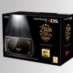 ニンテンドー3DSの「ゼルダの伝説 25周年」限定モデルの画像