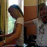 バイオリンとピアノで『ゼルダの伝説 スカイウォードソード』メインテーマを奏でる