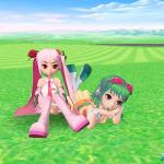 『スカッとゴルフ パンヤ』×「初音ミク」コラボ第2弾スタート、「GUMI」「桜ミク」が登場