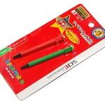 使って、収納してカワイイタッチペン「スーパーマリオ アイテムタッチペン forニンテンドー3DS」・・・週刊マリオグッズコレクション第166回