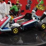 『マリオカート7』TVCMに登場したカートを展示、似顔絵のプロがMiiを作ってくれるコーナーも再び・・・ジャンプフェスタ2012レポート(3)