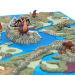 『ドラクエI』のマップ「アレフガルド」が立体化!「ドラゴンクエスト 誕生25周年記念 マップジオラマコレクション BOX」