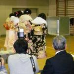 『戦国BASARA』武将が名古屋市瑞穂区弥富学区の成人式で選挙!? ― 地域の選挙啓発の一環として