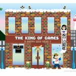 「THE KING OF GAMES」は今年で10周年!年賀イラストが素敵