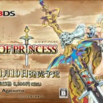 3DS完全新作アクションRPG『CODE OF PRINCESS』発売日決定、最新映像も掲載