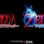 明らかにフェイクな新作3DSゼルダのロゴが出回る