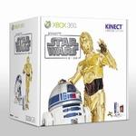 『Kinect スター・ウォーズ』発売日決定、R2-D2をイメージした限定デザインのXbox360も用意