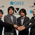 グリー×レベルファイブ、業務提携による共同記者発表会 ― 日野社長「しっかり作品が楽しめれば、それはゲーム業界」