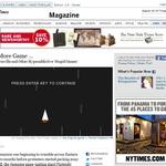ゲームの中毒性を知るには遊ぶのが一番!NYTimesが広告も撃ち落とせるシューティングを掲載