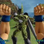 『ドラゴンボールZ for Kinect』のゲーム画面やプレイ映像が出現
