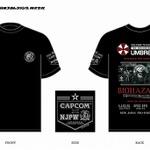 カプコン×新日本プロレスの強力タッグ ― 5月にコラボTシャツ発売