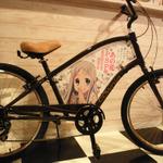『あの日見た花の名前を僕達はまだ知らない。』コラボ自転車が登場