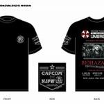カプコン×新日本プロレスのコラボTシャツ、イーカプコンでも販売