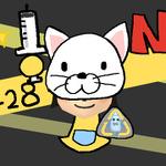 【Nらの伝説 #3】428記念日、切なくもかわいいネコの着ぐるみタマを見よっ