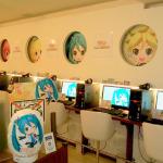 「DSゲームカフェ」で『初音ミク project mirai』応援キャンペーン ― 巨大ARカードコーナーも用意