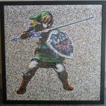 『ゼルダの伝説』ファンの写真25,000枚で作られたリンクのモザイクアート
