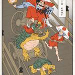 海外アーティストが描いた浮世絵風ゲームキャラ