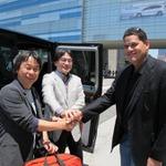 【E3 2012】岩田社長&宮本茂氏、ロスに到着 ― これからE3の準備進める