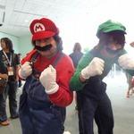 【E3 2012】某有名兄弟など、会場を盛り上げるキャラクターたち