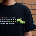【THE KING OF GAMES】KOG10周年Tシャツ発売、ドカンマリオモチーフで今度はルイージも一緒