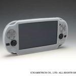 PS Vita定番アクセサリー「シリコンプロテクタV」「EVAポーチV」にホワイトカラー登場